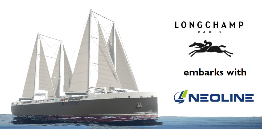 Longchamp partners with Neoline for greener sailing