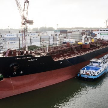Chemical tanker completes voyage sailing on 100 per cent biofuel