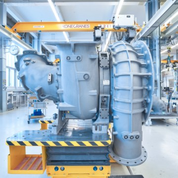 ABB to turbocharge first ME-GA engines