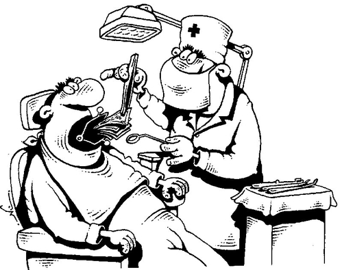 Смешные открытки у стоматолога, открытка зонтики