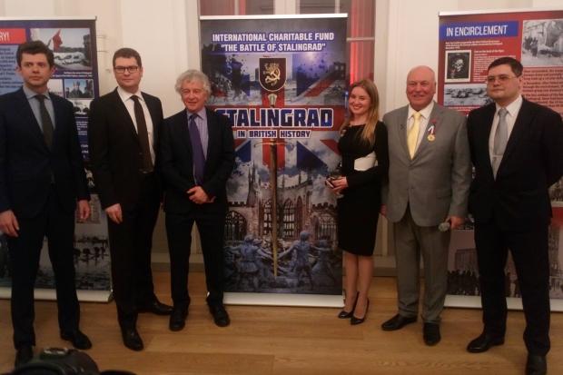 Выставка «Сталинград в британской истории» открылась в Великобритании