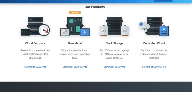 vultr-hosting-packages
