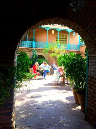 Jardin Majorelle w Marrakeszu