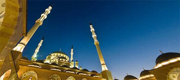 """Грозный, мечеть """"Сердце Чечни"""""""