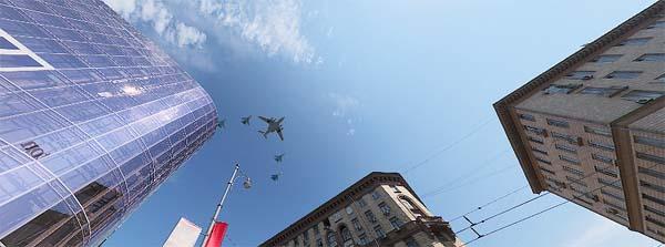 Воздушный парад над Тверской