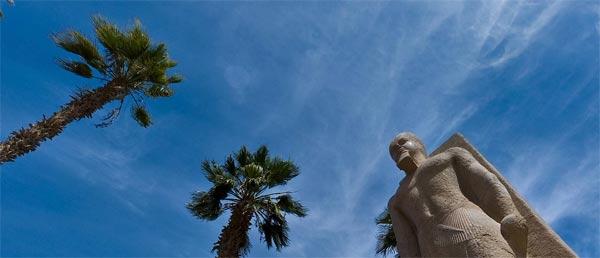 Мемфмс, статуя Рамзеса II