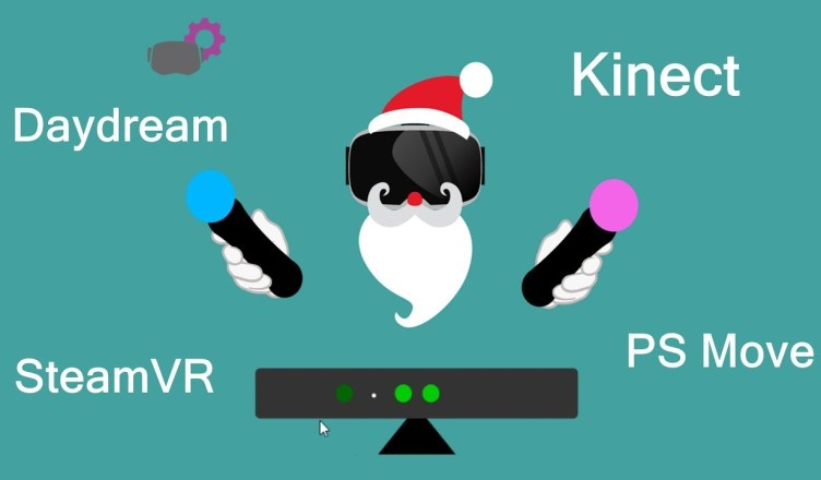 Driver4VR – Preview: Virtual Tracking System made of Kinect