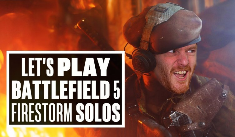 Let's Play Battlefield 5 Firestorm SOLOS PS4 – V-IAN FOR VICTORY