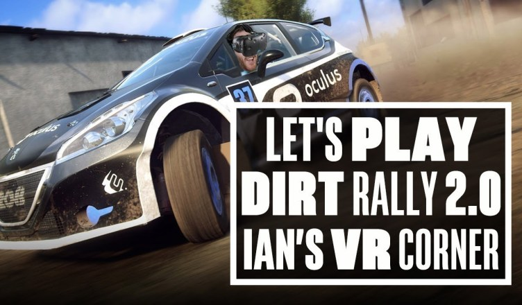 Crashing Cars In Dirt Rally 2 0 VR Update Vive Gameplay – Ians VR