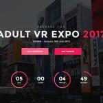 1月19日・20日に大阪で体感型アダルトVRイベント「アダルトVRエキスポ2017」が開催!19日はニコ生で当日生放送も(1/19更新)