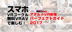 スマホ・VRゴーグル・無料VRアダルト動画で楽しむ! アダルトVR体験パーフェクトガイド2017
