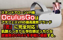 OculusGoでアダフェスVRの最高画質「匠」を再生!肌艶くっきり&存在感ばっちりな匠画質を手軽に堪能する