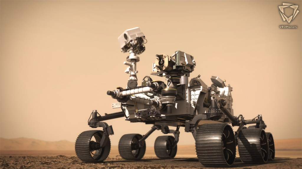 PerseveranceDiscover - First moments on the red planet for Perseverance - 3D visualization software