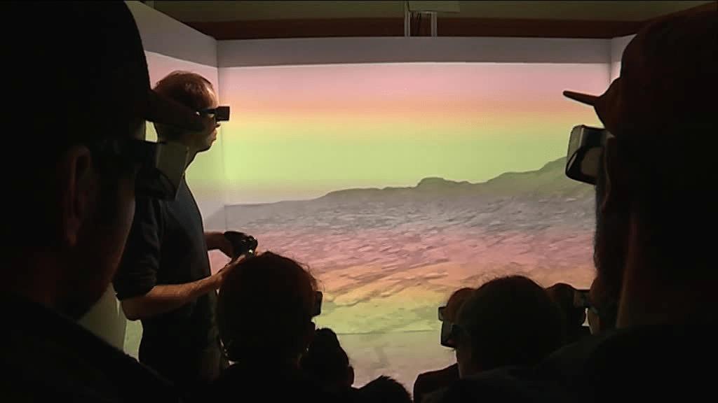 Réalite virtuelle CAVE 3D - Nantes