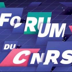 Forum CNRS 2017