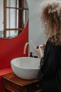 tandenborstel opbergrek