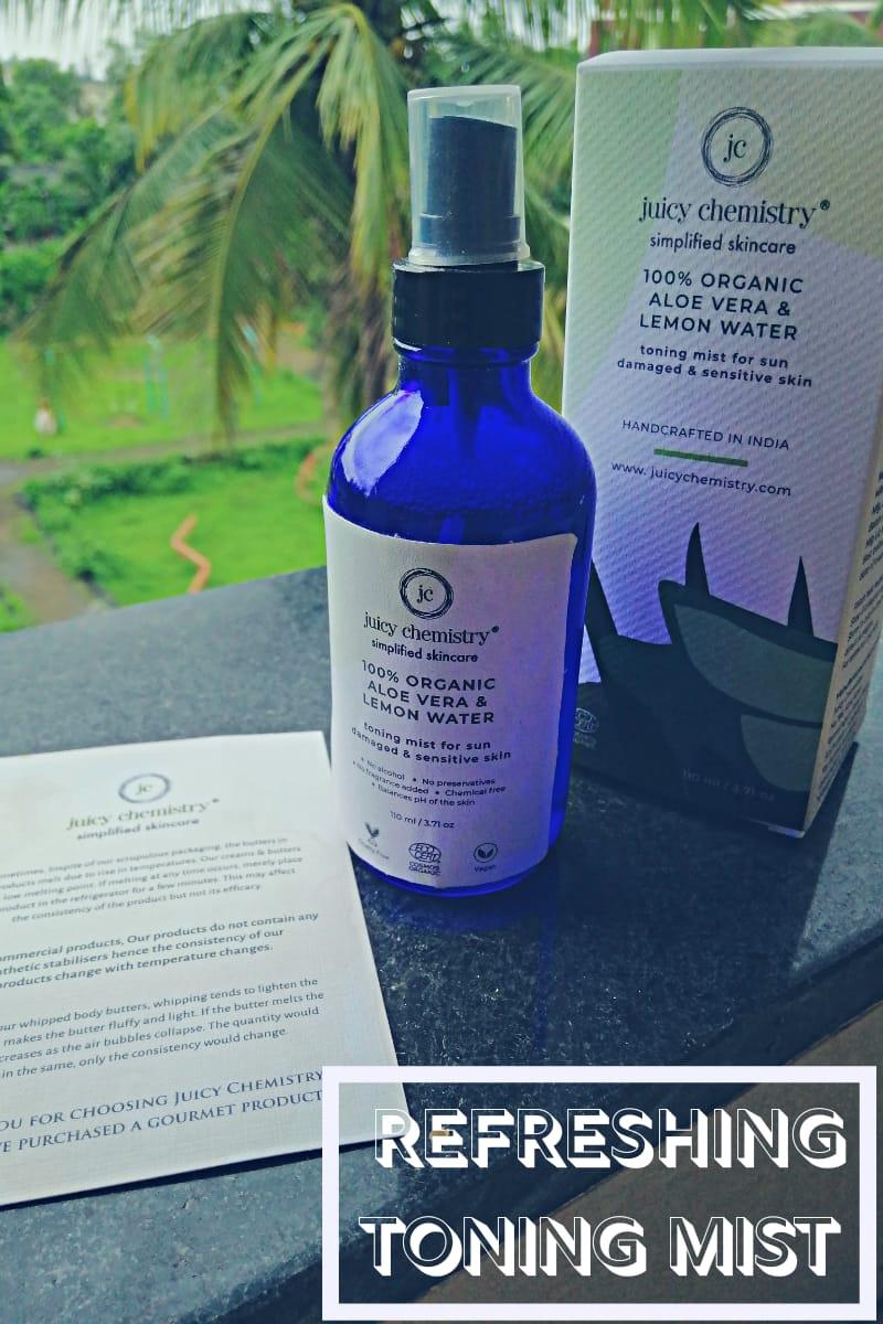 Organic Aloe Vera & Lemon Water
