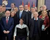 Председник Александар Вучић уручио одликовања поводом Дана државности