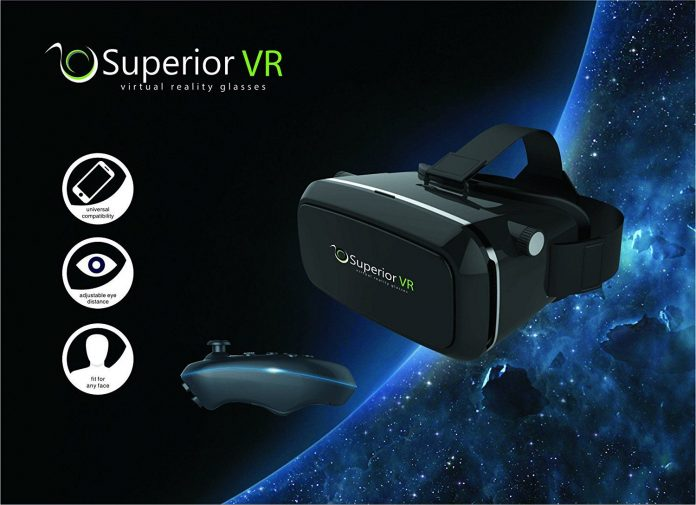 Superior VR Glasses Headset Featured