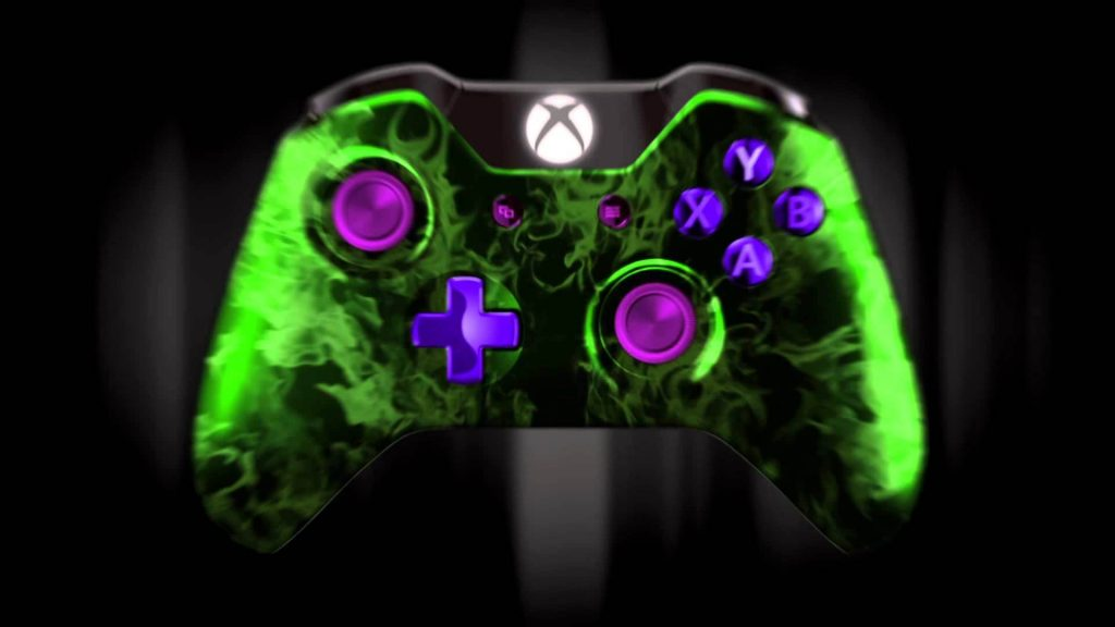 Xbox controller with Bluetooth