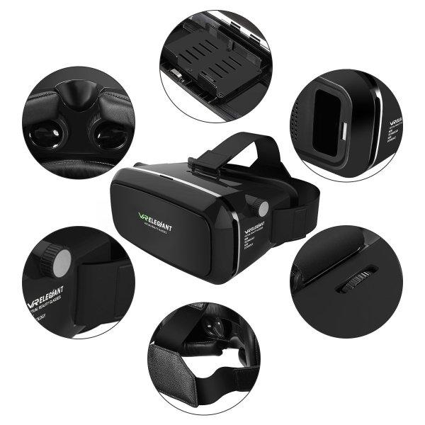 Elegiant Universal 3D VR Brille