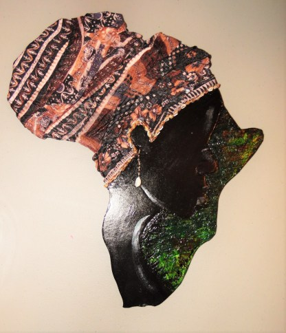Mother Africa brown tones and shells
