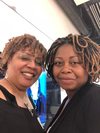 Artist Unicia Buster & me