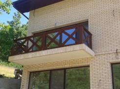 Balustrada exterior lemn Orsova