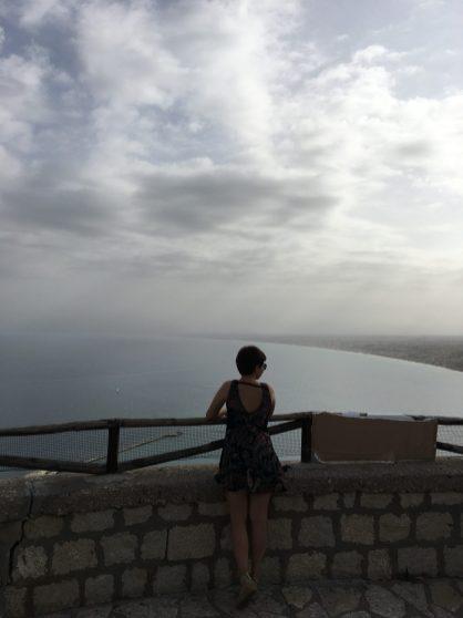 Смотровая площадка на Castellammare del Golfo