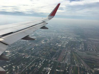 Подлетаем к Бангкоку