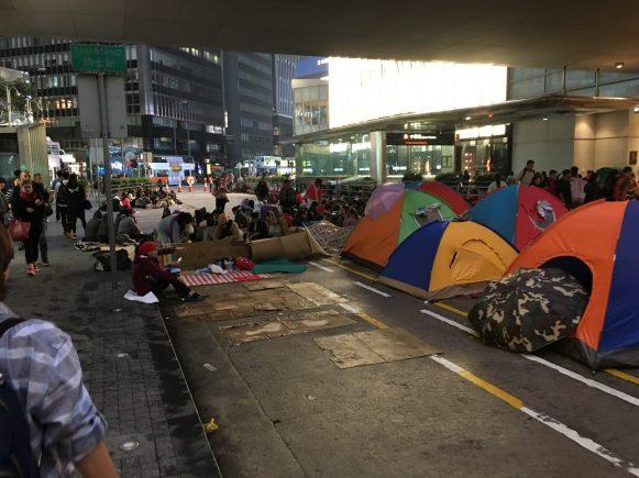 Бездомные на улицах ГК