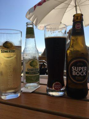 Somersby и Super Bock