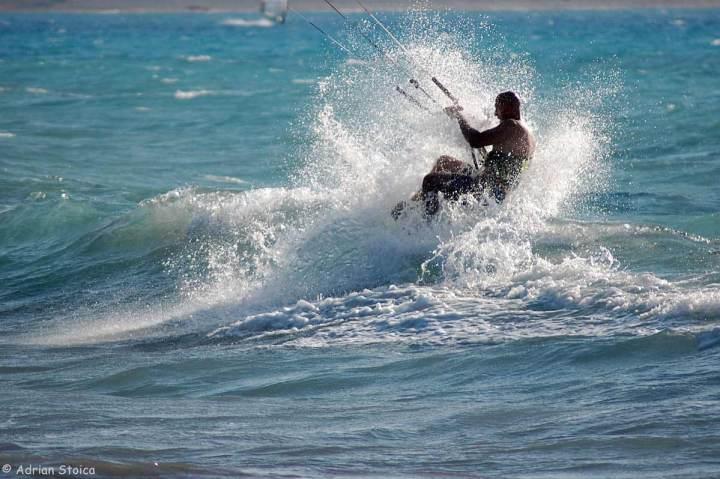 Agios Ioannis - Kite surfing