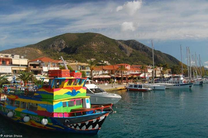 Portul din Nidri - Plecarea in croaziera