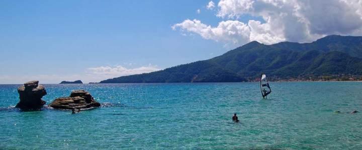 Thassos, insula de langa casa