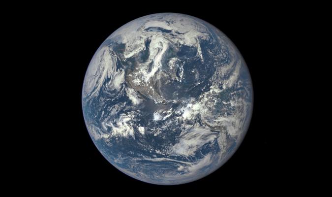 Zemlja snimljena iz kosmosa