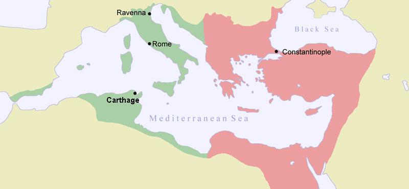 LATINSKA-OSVAJANJA-NA-BALKANU-Istocno-i-zapadno-rimsko-carstvo-u-doba-Justinijana-I