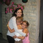 Daughters with Au Pair Elena in Piza Italy