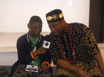 MuZikTalk Blogger/VRH crew interviewing one of the acts