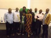 MuZikTalk Blogger with the cast
