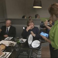Canadian Restaurant Staffed with Deaf Waiters
