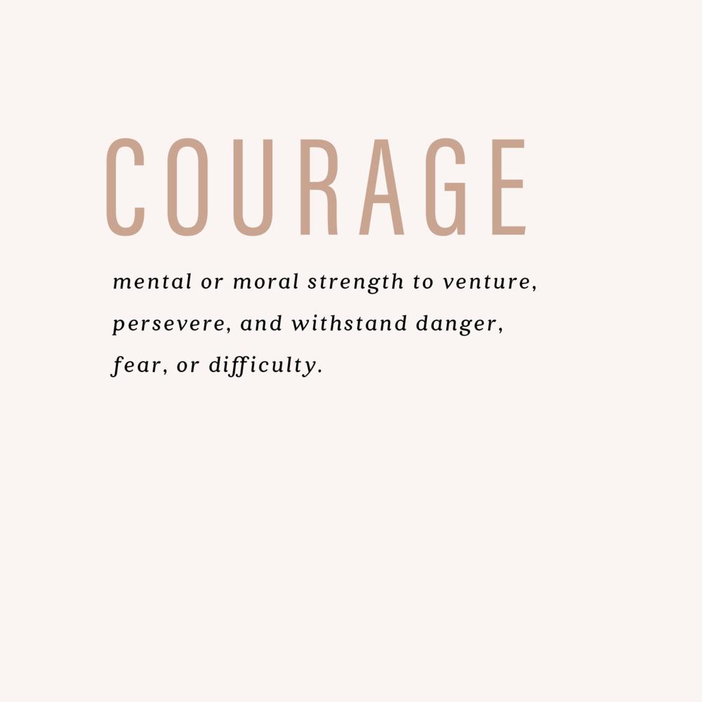 Courage - VRHS Library Media Center