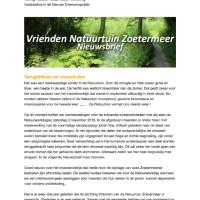 thumbnail of Nieuwsbrief oktober 2018