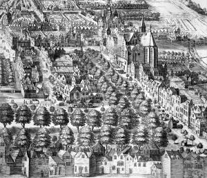 1614,_Lange_Voorhout,_vogelvlucht,_door_Jan_van_Londerseel