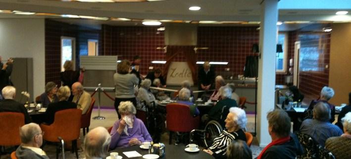 Foto opening restaurant De Luwte