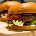 Midwinter barbecue burger