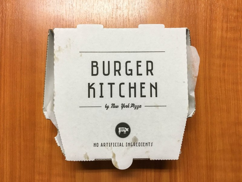 Burger Kitchen van New York Pizza