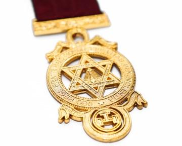 Borstjuweel Princeps Royal Arch Triple Tau Heilig Koninklijk Gewelf Blauwe Graden Dutch nederlandse regalia maçonniek Vrijmetselarij Vrijmetselaarswinkel Loge Benelux
