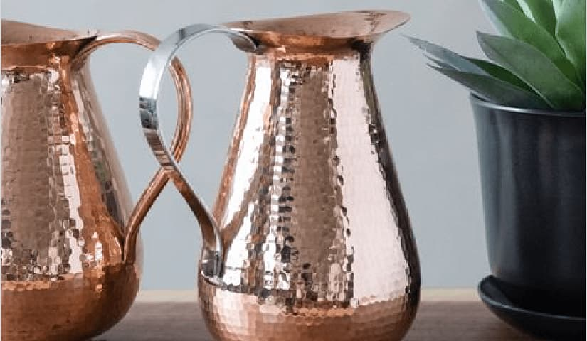 Vriksha Copper Pitcher