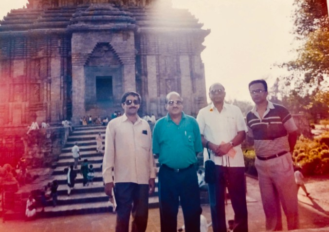 A) Mr. Kalyan Chattopaday ,NDDB Bangalore , Mr. ABraham MD, Oswal Oil pam Karnataka, and myself during the visit to National Seminar on Oil Palm held at Bhubaneswar during 1995 B). Visit to Peresco, OIlpalm Factory, Benin Nigeria C).Team of Officers deputed from Government department and industries from India to Nigeria under Technology Mission of Oilseeds to Nigeria D).Mr. J. M Rousseau, from Siat training the officers from India at Benin, Nigeria E). Training at Presco Oilpalm processing unit F) Training at Presco, Benin Oilpalm Nursery